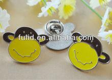 custom monkey enamel metal pin lapel pin badge