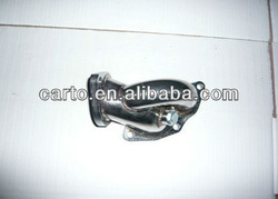 MITSUBISHI ECLIPSE,TALON,1G,2G DSM,OUTLET EVO123 muffler pipe fittings exhaust pipe for car generator parts