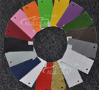 Auto various color 3D carbon fiber sticker for car wrapping tint film 1.52*30m