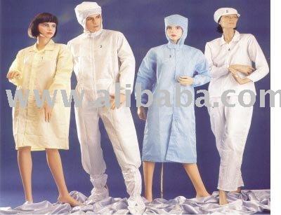 Estéril área de prendas de vestir