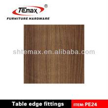 PE24 Cabinet Furniture Decoration Profile PVC Edge Banding