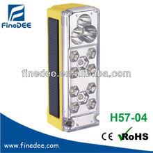 H57-04 10+3 PCS LED Solar Panel Lamp