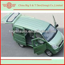 JINBEI benzine engineering passenger mini van body for sale