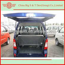 2013 Euro IV gasoline passenger mini van shipped to the Chongqinq port by semitrailer