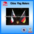personalizado regalo de la promoción mini mesa de impresión de la bandera de escritorio