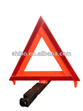ROADSIDE REFLECTIVE 3 PC TRIANGLE WARNING SAFETY KIT WITH CASE