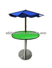 Starbucks Stainless Steel Umbrella Table