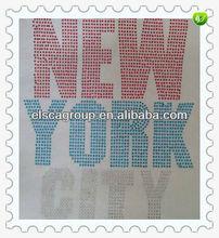 New York City rhinestone transfer