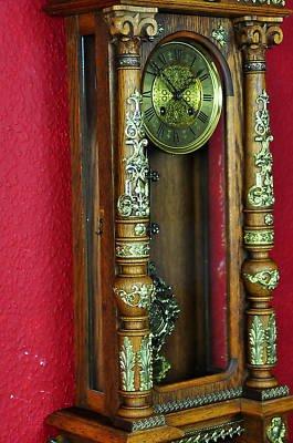 Fantastique Gustav Becker horloge murale approx.1910