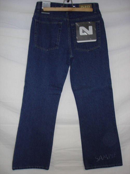 See larger image: Nobu 5 Pocket Mens Denim Jeans
