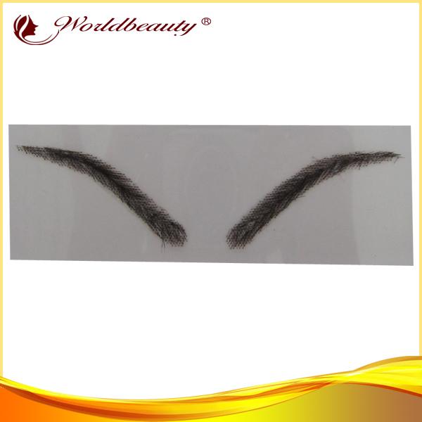 100% human hair eyebrow human hair lace eyebrows
