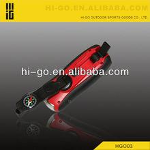Wholesale multifunction flashlight whistle compass