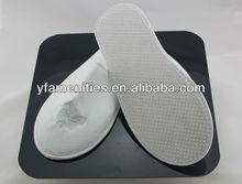 Cheap Non-woven &towel & waffle & velvet hotel slippers for bathroom