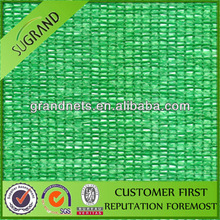 100% HDPE and UV stabilized green shade netting for plant