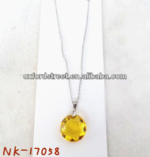 Promotional Chain Cheap Rounded Diamonds Necklace
