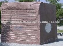 granite rough block