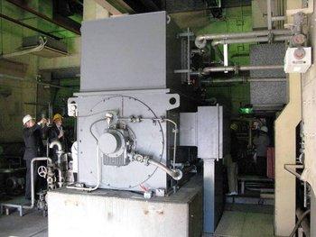 6000kw JAPANESE steam turbine generators