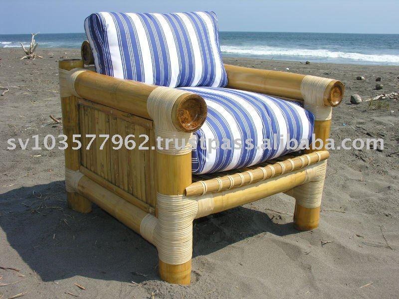 Sofá de bambú
