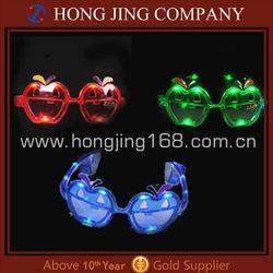 2013 Led Glass,Led Sunglasses,Led apple Glasses For Halloween