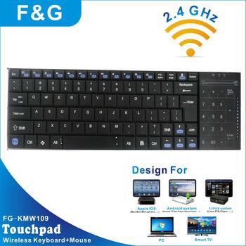 touch screen wireless keyboard