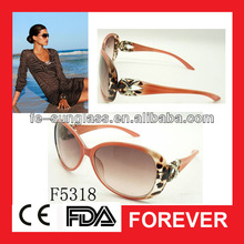 F5318 2012 top sale pop brand women sunglasses with creative arms