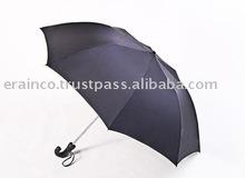 Sun Flower Black Curve Handle Umbrella 91CM