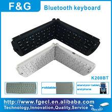 portable and foldable mini bluetooth keyboard