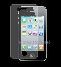 High Quality Clear Screen Protector for iPhone 4g Japan Film