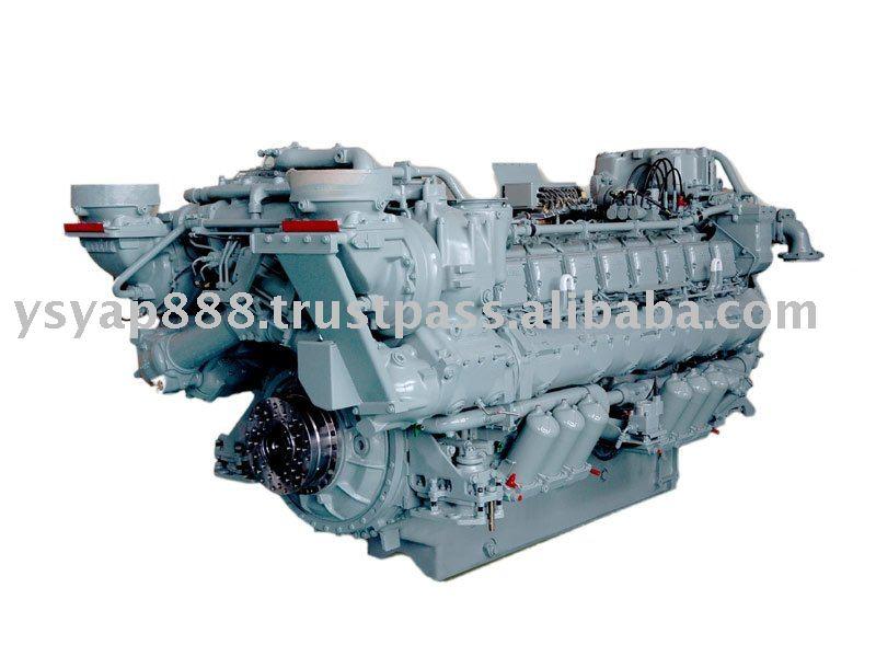 Marine mtu 70 - 12000 HP Engine Brand New & parts