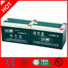 12v caravan leisure battery 12v 6-DZM-10/CE UL ISO QS