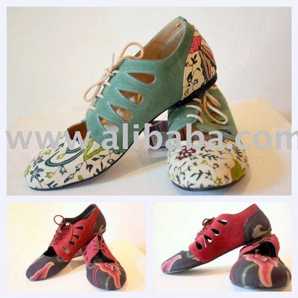Batik Shoes Indonesia Batik Shoes