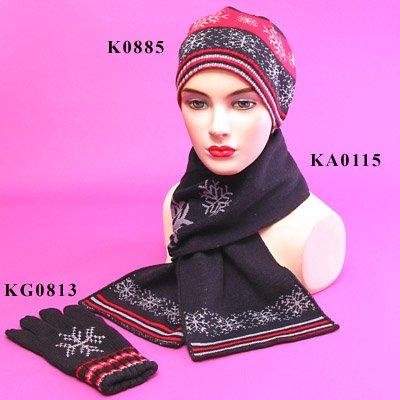 Jacquard Knit Set