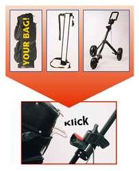 Klick-N-Go Golf Cart