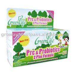 GreenLife Pre & Probiotics 2 Plus Formula