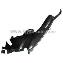 Carbon fiber motorcycle part heat shield upper for Yamaha r1 07 08