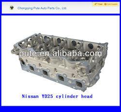 Navara/Pathfinder 2.5DDTi 16v,2005- engine spare parts YD25 cylinder head (908 510)