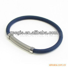 Healthy jewelry 2013 new design THB image energy silicone bracelet for men
