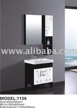 white pvc bathroom cabinet