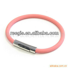 2013 USA most popular sports silicone bracelet with germanium titanium energy element