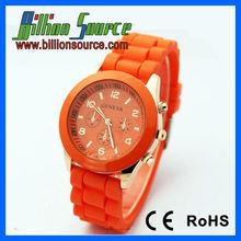 custom geneva watch silicone 2013 for ladies