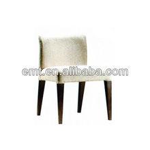 Wooden Frame Fabric Cushion Chair Chairs(EMT-HC68)