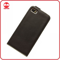 2013 New High Quality Black Leather Case for Blackberry Z10