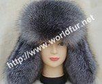 fox fur hat F001