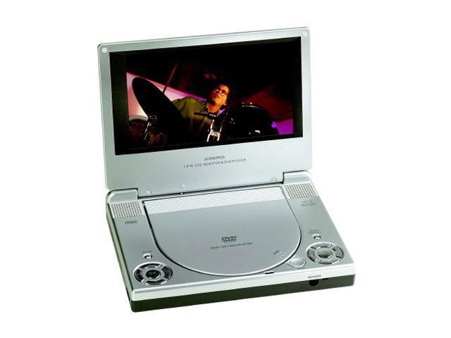 "Audiovox D1708 portátil reproductor de DVD con 7 "" 16 : 9 LCD"