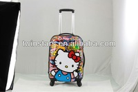 abs / polycarbonate beauty trolley luggage