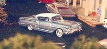 1/87 Exact Replica-1958 Chevy Impala Ho Trains - 513