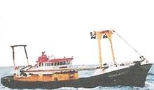 Fishing Boat With Freezing Plant