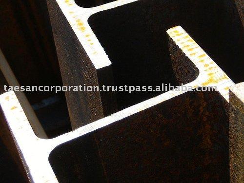 Viga de acero ( ASTM a36, A572 gr. 50, Ss400, Ss490, S235 jr, S275 jr, S355 jr, Bs estándar etc )