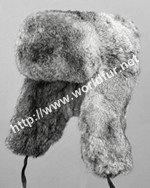 rabbit fur hat R011