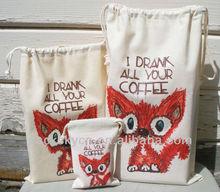 Jute And Cotton Bag Jute Cosmetic Bags